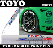 TOYO Tyre Paint Marker Pen White Car Motorcycle Tire Tread Marking Waterproof