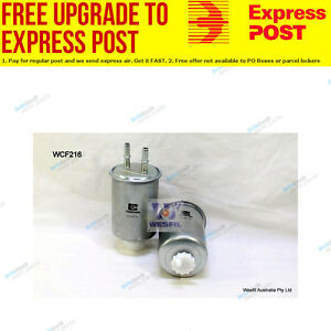 Wesfil Fuel Filter WCF216 fits Ssangyong Actyon Sports 2.0 Xdi