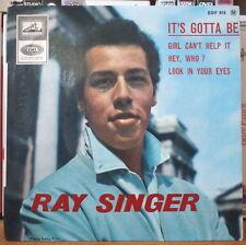 RAY SINGER IT'S GOTTA BE FRENCH EP DISQUES LA VOIX DE SON MAITRE EGF 818