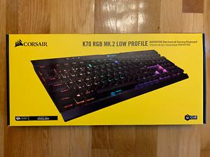 Corsair K70 RGB MK.2 RAPIDFIRE (CH9109018NA) Wired Gaming Keyboard