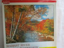 Radiant River - 1000pc. Jigsaw Puzzle - Hoyle 21x27in. - Fall/Autumn Trees  NEW
