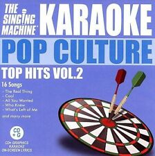 Various Artists : Karaoke: Pop Culture Top Hits 2 CD