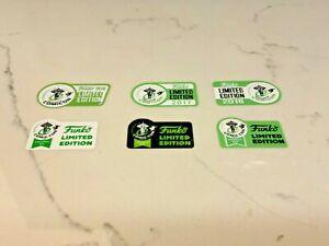 1 3 5 10  - 2016 2017 2018 2019 2020 2021 - ECCC Funko Pop Replacement Stickers!