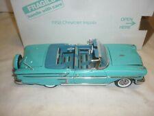 DANBURY Comme neuf scale model of a 1958 CHEVROLET IMPALA, Boxed,
