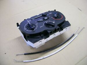 PEUGEOT 206 BEHR HEATING VENTILATION CONTROL PANEL FAN A/C OFF 2005 YEAR 99210