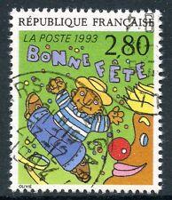 STAMP / TIMBRE FRANCE OBLITERE N° 2837 LE PLAISIR D'ECRIRE / BONNE FETE