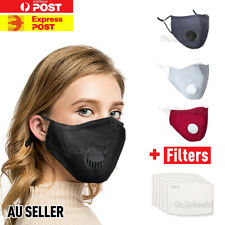 Anti Air Pollution Face Mask Mouth Cover Washable Safety Respirator & Filters