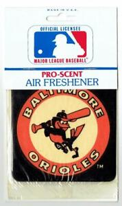 BALTIMORE ORIOLES ~ Unopened Air Freshener with Vintage Logo