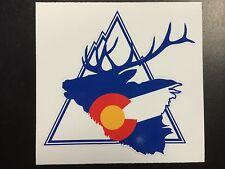 Colorado Elk Mountain Sticker