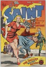 The Saint #3 Photocopy Comic Book, Simon Templar