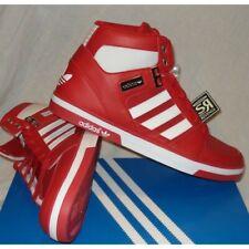 Adidas Originals Mens HARD COURT HI II Red Shoes UK 8.5 US 9 EU 42 2/3