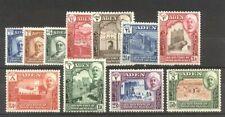 Aden / Quaiti State #1-11 Mint - 1942 Pictorial Set ($44)