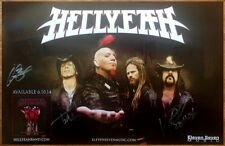 HELLYEAH Blood For Blood Signed By All 4 Members RARE Poster! PANTERA MUDVAYNE
