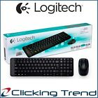 Wireless Keyboard and Mouse Logitech MK220 Combo for Laptop Desktop USB NEW