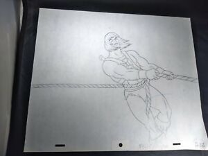 VINTAGE HE-MAN ANIMATION CELS ART FILMATION STUDIOS ART DRAWING 80s HE-MAN