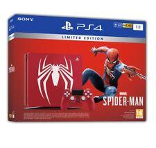 CONSOLE SONY PS4 SLIM 1TB LIMITED EDITION SPIDER-MAN ROSSA + GIOCO PLAYSTATION 4