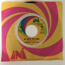 """STRAWBERRY ALARM CLOCK SIT WITH THE GURU/ PSYCH OUT~VG+ 1968 7"""" PROMO w/SLEEVE"""