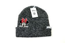 Neff Disney Collection Minnie Mouse Peek Cuffed Beanie Gray Nwt