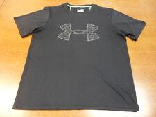 Black Under Armour Combine Training Heat Gear T-Shirt XL