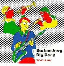 Stefansberg Big Band: Heat is on/5 track-CD (Leico Music 1998)