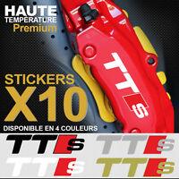 Compatible Stickers adhésif étrier de frein AUDI TTS TT RS S-line Quattro TFSI