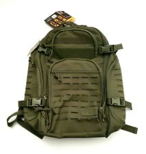 Highland Tactical Roger Tactical Travel Backpack Cut Molle Webbing Olive Green
