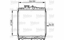 VALEO Radiador, refrigeración del motor HONDA CIVIC CRX 731459