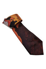 "*RALPH MARLIN* MOULIN ROUGE NOVELTY PRINT TIE (58"")"