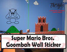 Super Mario Bros. Goombah Wall Vinyl Sticker