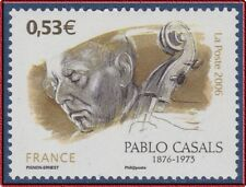 2006 FRANCE N°3941** MUSIQUE Violoncelle Pablo Casals, TB Music Cello MNH