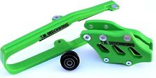 KXF 250 KLX CHAIN SLIDE GUIDE KIT KAWASAKI GREEN KCP-K09 TM DESIGNWORKS 2009-16