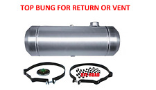 10x30 End Fill Spun Aluminum Gas Tank with Top 1/4 NPT Bung for Return or Vent