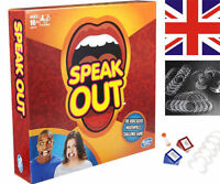 UK STOCK Genuine Hasbro Speak Out Board Game Party Christmas Gift