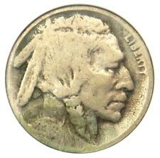1918/7-D Buffalo Nickel 5C - ANACS Good Details / Net AG3 - Rare Overdate Coin!
