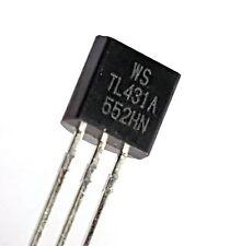 3 pieces -TL431A, T092 ,PRECISION VOLTAGE REFERENCE, TL431,  TL 431– ref: 406