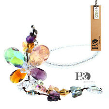 Colourful Butterfly Suncatcher Prisms Hanging Crystal Fengshui Rainbow Pendants