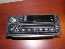 2003 2004 Sebring Stratus Liberty Neon AM FM Radio Stereo CD Player P05091556AH