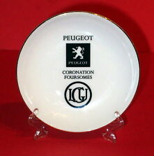 PEUGEOT * Small Wedgwood Collectable Plate * Bone China * 10.5cm Diameter *