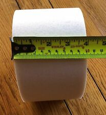 "BUCKRAM 4"" wide DOUBLE Sided Fusible/Fabric Stiffening for Curtains/10mts Roll"