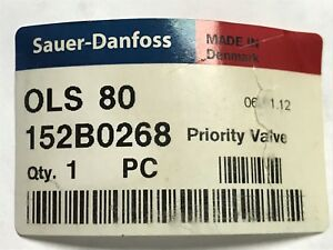 OLS 80 152B0268 Sauer-Danfoss Priority Valve, Raven 334-0003-072