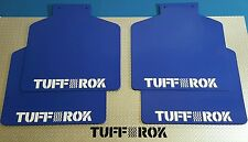 Genuine Tuff-rok LandRover Discovery 2 full Mud Flap set x 4 2003 gloss blue