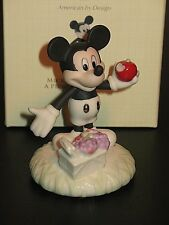 LENOX DISNEY A PICNIC WITH MICKEY MOUSE PORCELAIN FIGURINE NEW W/CERT $50 RETAIL