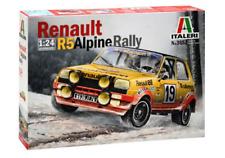 RENAULT R5 ALPINE RALLY (1978 Monte Carlo) ITALERI 1/24 PLASTIC KIT