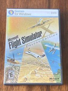 Microsoft Flight Simulator X: Deluxe Edition (PC DVD Windows, 2008)
