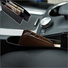 Car Seat Storage Box Caddy Catch Slit Pocket Organizer Holder Side Catcher ABS