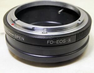 Canon FL FD Lens mount adapter to EOS R Full frame Mirrorless Camera adapter