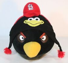 Angry Birds Plush St Louis Cardinal's Hat Stuffed Animal Genuine Merchandise