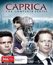 CAPRICA 1.0+1.5 2009-11 COMPLETE Series Battlestar Galactica - Au Rg4 DVD not US