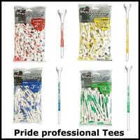 Pride Professional ProLength Wooden Golf Tees Bumper Pack -Various lengths