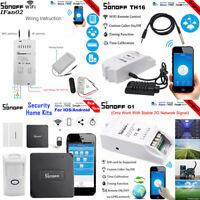 Sonoff IFan02 Basic Dual TH16 Pow RF G1 GPRS/GSM Smart WiFi Switch APP Remote F1